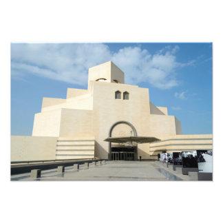 イスラム教の芸術の博物館、カタールの写真のプリント フォトプリント