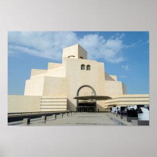 イスラム教の芸術の博物館、カタールポスタープリント ポスター