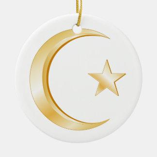 イスラム教の記号のオーナメント セラミックオーナメント