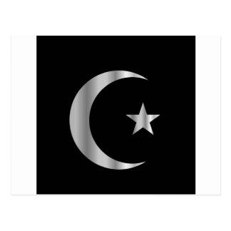 イスラム教の記号 ポストカード