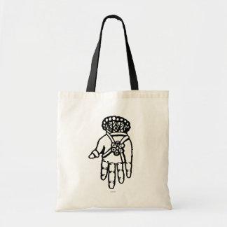 イスラム教の記号: Hamsa トートバッグ