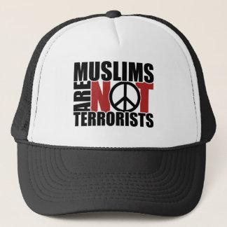 イスラム教はテロリストの帽子ではないです キャップ