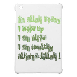 イスラム教メッセージの引用文のイスラム教のIpadの小型場合 iPad Miniカバー