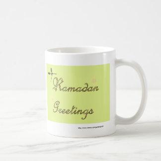 イスラム教ラマダーンEidムバラクのイスラム教 コーヒーマグカップ