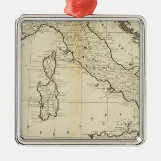 イタリアおよびサルジニア メタルオーナメント