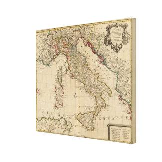 イタリアおよびスロベニア2 キャンバスプリント