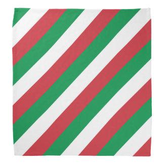 イタリアのイタリアンな旗のバンダナ| Tricolore バンダナ