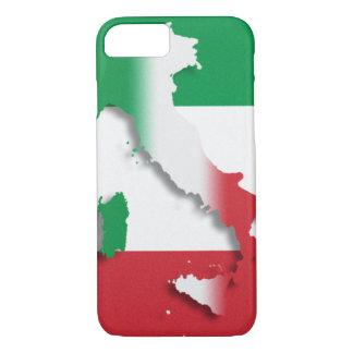 イタリアのイタリア人の旗 iPhone 8/7ケース