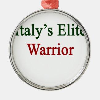 イタリアのエリートの戦士 メタルオーナメント