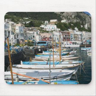 イタリアのカンパニア州、(ナポリの湾)、CAPRI: マリーナ マウスパッド