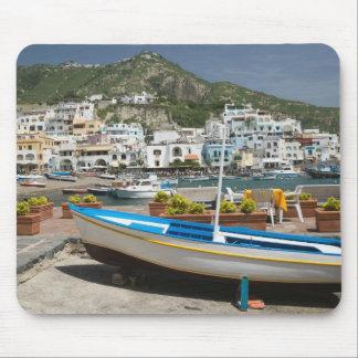 イタリアのカンパニア州、(ナポリの湾)、ISCHIA、 マウスパッド