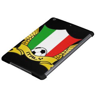 イタリアのサッカーのiPadの空気箱