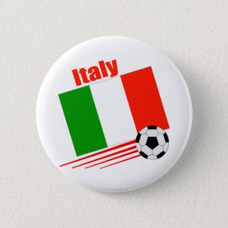 イタリアのサッカーチーム 5.7CM 丸型バッジ