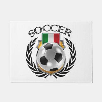 イタリアのサッカー2016ファンのギア ドアマット