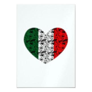 イタリアのハート カード