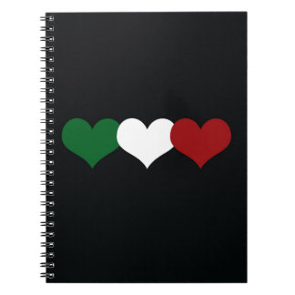 イタリアのハート ノートブック