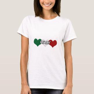 イタリアのハート Tシャツ