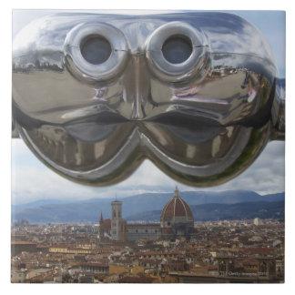 イタリアのフィレンツェの発見 タイル