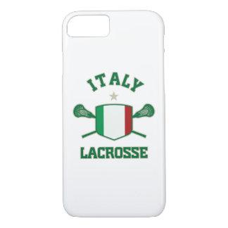 イタリアのラクロスのiPhone 7の場合 iPhone 8/7ケース