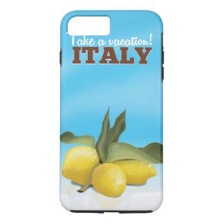 イタリアのヴィンテージ旅行ポスター iPhone 8 PLUS/7 PLUSケース