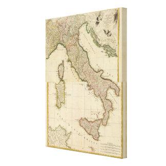 イタリアの一見 キャンバスプリント