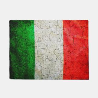 イタリアの割れた旗 ドアマット