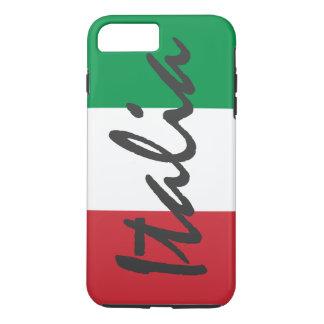 イタリアの名前入りな旗 iPhone 8 PLUS/7 PLUSケース
