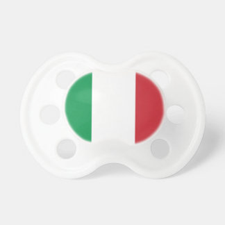 イタリアの国民の世界の旗 おしゃぶり