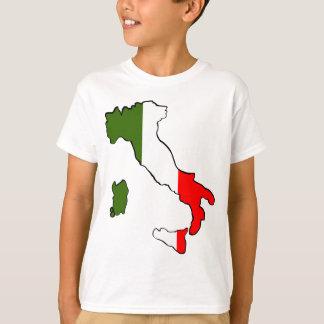 イタリアの地図 Tシャツ