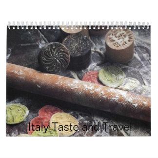 イタリアの好みおよび旅行2009年 カレンダー