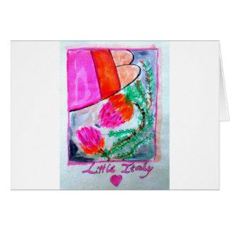 イタリアの少しmercatoのバンクシアの花、サンディエゴ カード