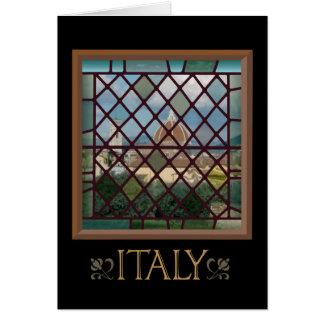 イタリアの挨拶状 カード