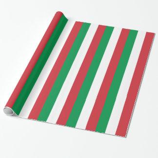 イタリアの旗が付いている包装紙 ラッピングペーパー