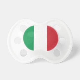 イタリアの旗が付いている調停者 おしゃぶり