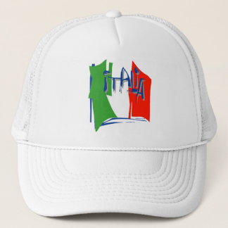 イタリアの旗 キャップ