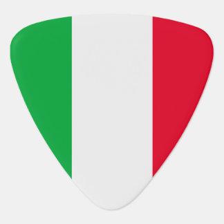 イタリアの旗 ギターピック