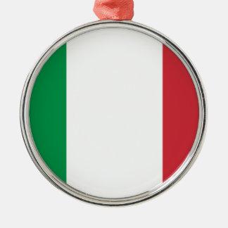 イタリアの旗 メタルオーナメント