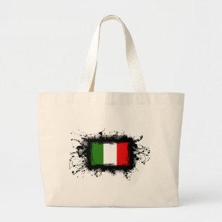 イタリアの旗 ラージトートバッグ