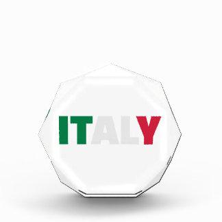 イタリアの旗 表彰盾