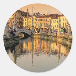 イタリアの眺め ラウンドシール
