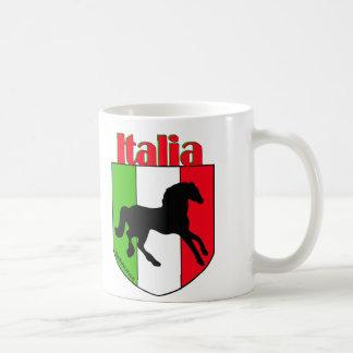 イタリアの種馬の頂上 コーヒーマグカップ