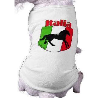 イタリアの種馬の頂上 ペット服