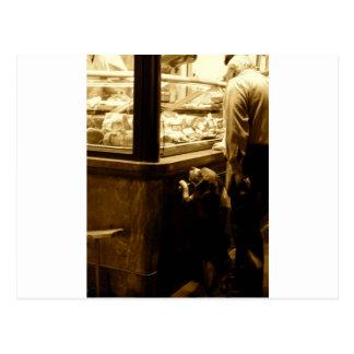 イタリアの空腹な犬 ポストカード