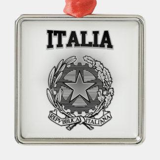イタリアの紋章付き外衣 メタルオーナメント