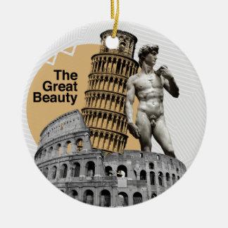 イタリアの素晴らしい美しい セラミックオーナメント