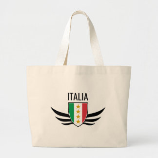 イタリアの翼の頂上 ラージトートバッグ