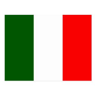 イタリアの高品質な旗 ポストカード
