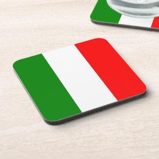 イタリアのbandieraのd'Italia Tricoloreのイタリアンな旗 コースター