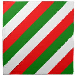イタリアのbandieraのd'Italia Tricoloreのイタリアンな旗 ナプキンクロス
