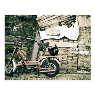 イタリアのCaliffoのスクーター ポストカード